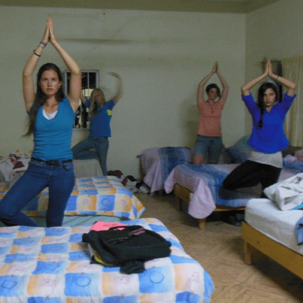 shanti yoga pose